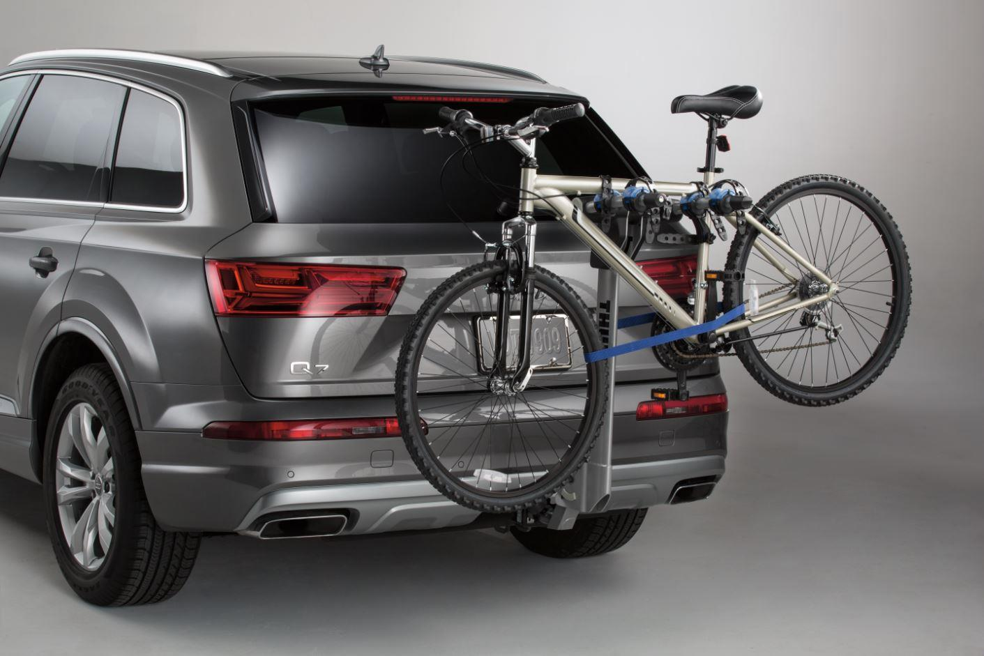 Audi Q5 Thule 174 Hitch Mounted Carrier Apex 4 Bike